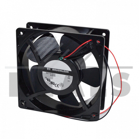 ventilateur 24v 119x119x38
