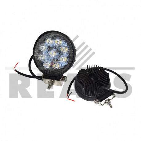 Phare a led Rond Eclairage diffus 10/80v 1800Lm 110 x 128 x 55