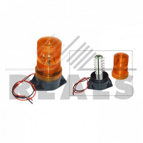 Feu à éclats à leds 9-100v h.132 mm Entraxe : 85 mm