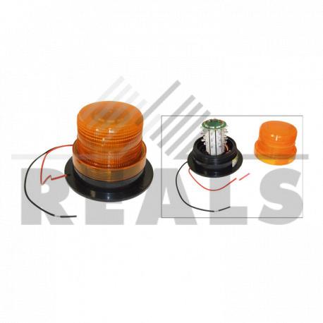 Feu à éclats à leds 9/100v h.95 mm Entraxe : 100 mm