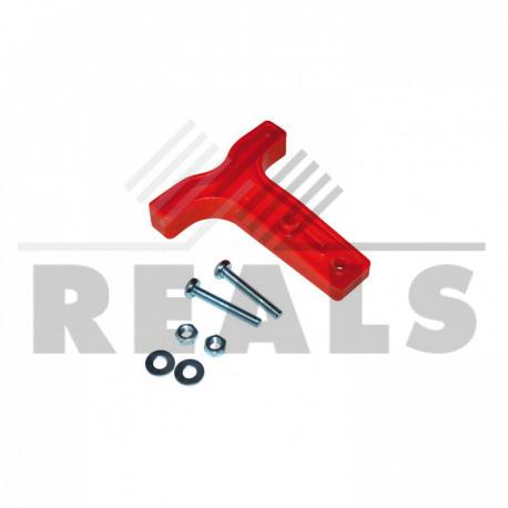 Poignee plastique rouge pour RB50
