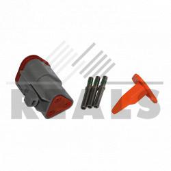 Kit connecteur femelle 3 voies