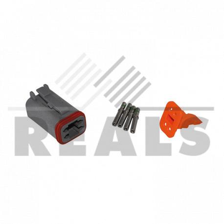 Kit connecteur femelle 4 voies