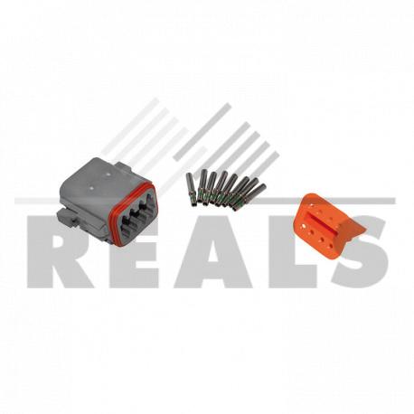 Kit connecteur femmelle 8 voies