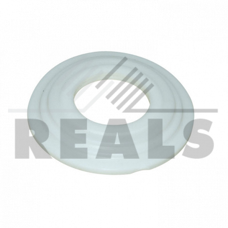 Rondelle blanche (diam.20)