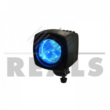 phare a led de securite bleu 12/100v