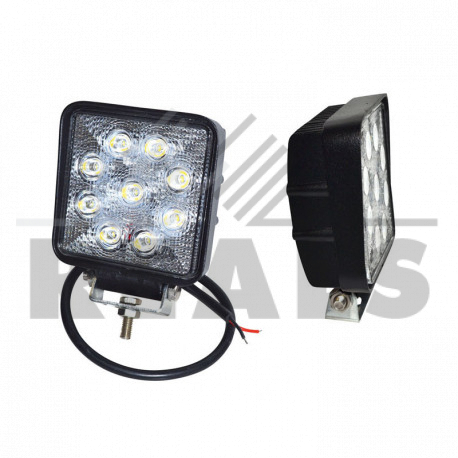 phare a led carre Eclairage diffus 10/90v 1800Lm 110 x 126x 50
